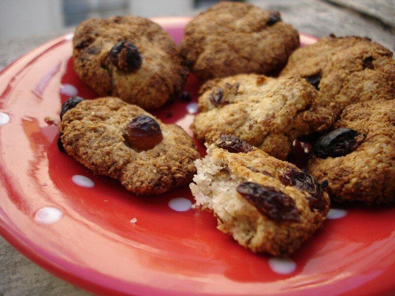 Petits fours coco amandes sans oeufs sans lait