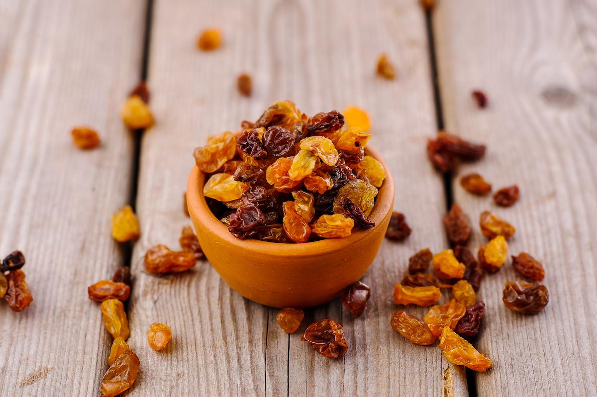 Raisins secs ©sharshonm shutterstock