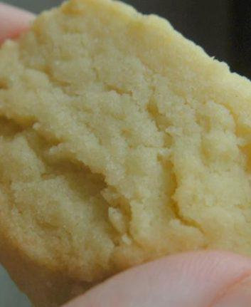 Sablés à la farine torréfiée sans oeufs
