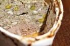 Terrine de canard aux noisettes et pistaches