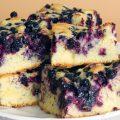 Gâteau aux bleuets © Stana shutterstock