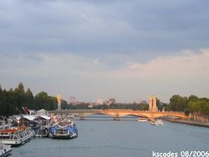 Seine et Pont des Invalides