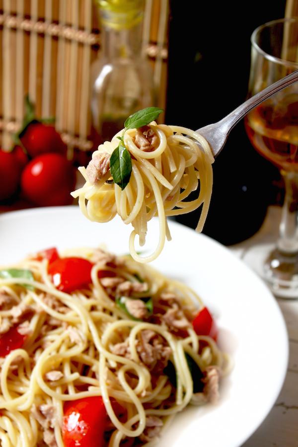 Spaghettis de la nuit de San Lorenzo © Liljam - Shutterstock
