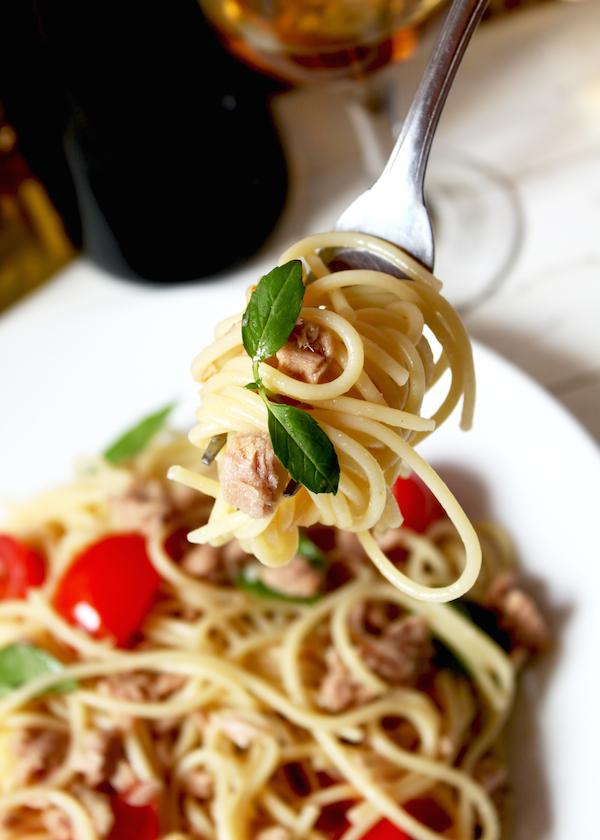 Spaghettis de la nuit de la San Lorenzo © Liljam shutterstock