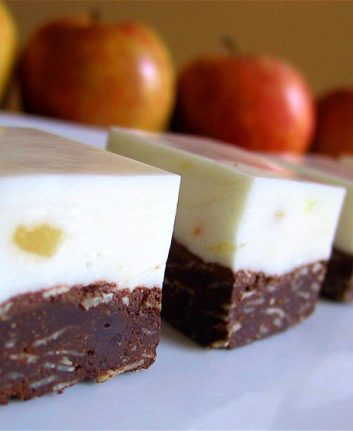 Carrés au chocolat et à la fève tonka