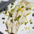 Filet de maigre à la pistache