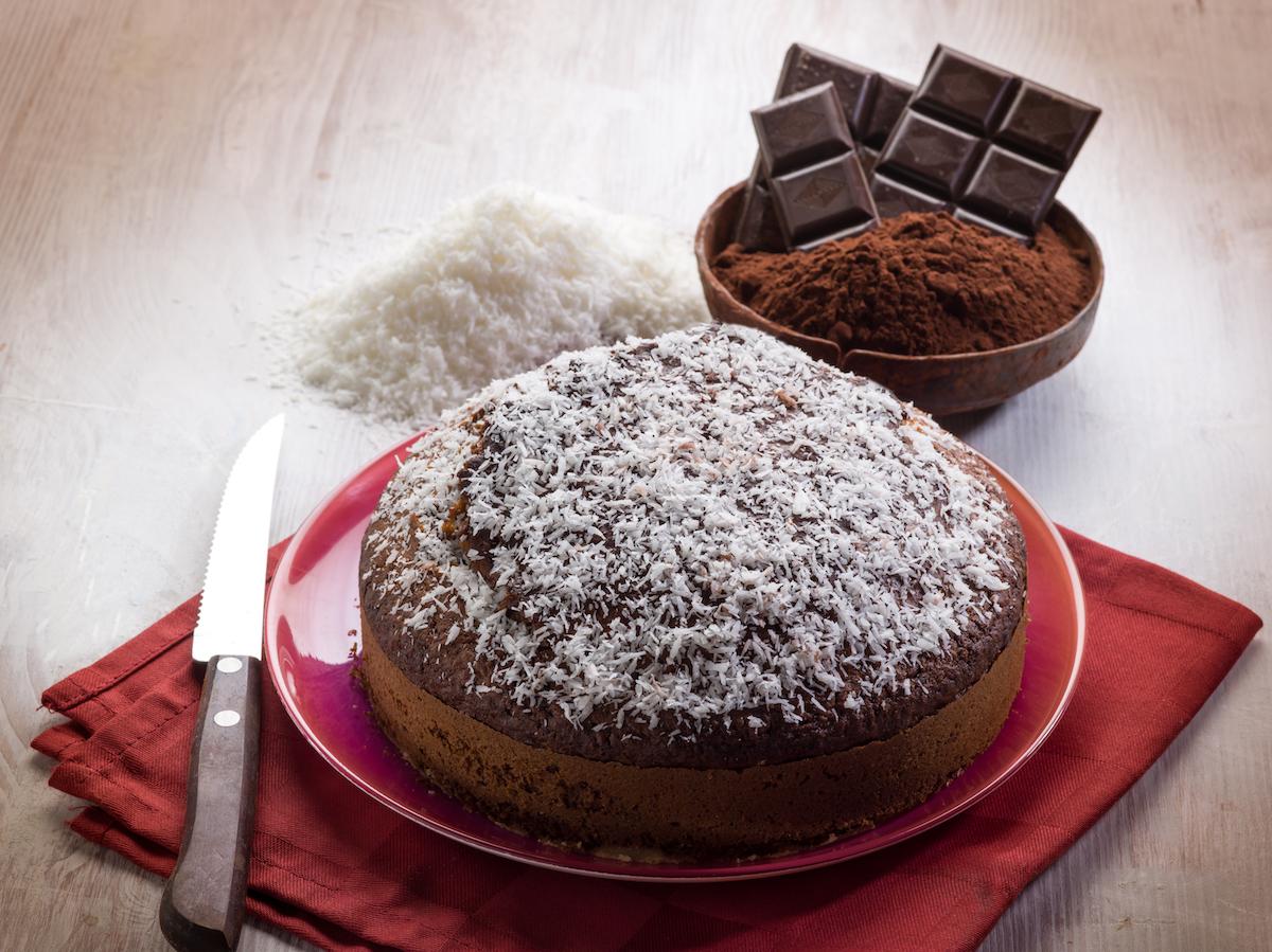 Gâteau chocolat coco ©marco mayer shutterstock