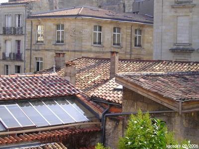 La vue de ma fenêtre, Bordeaux France