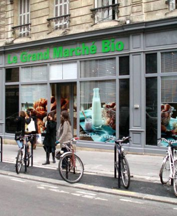 Le grand marché bio - Bordeaux