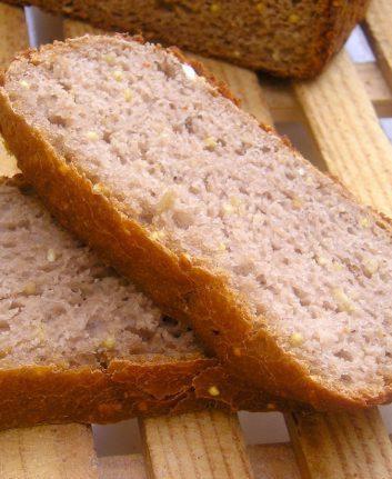 Pains aux céréales et à la farine de châtaignes