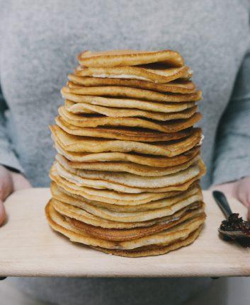 Pancakes au citron et lait d'amandes sans oeufs (c) Stocksnap CC0 Pixabay.jpg