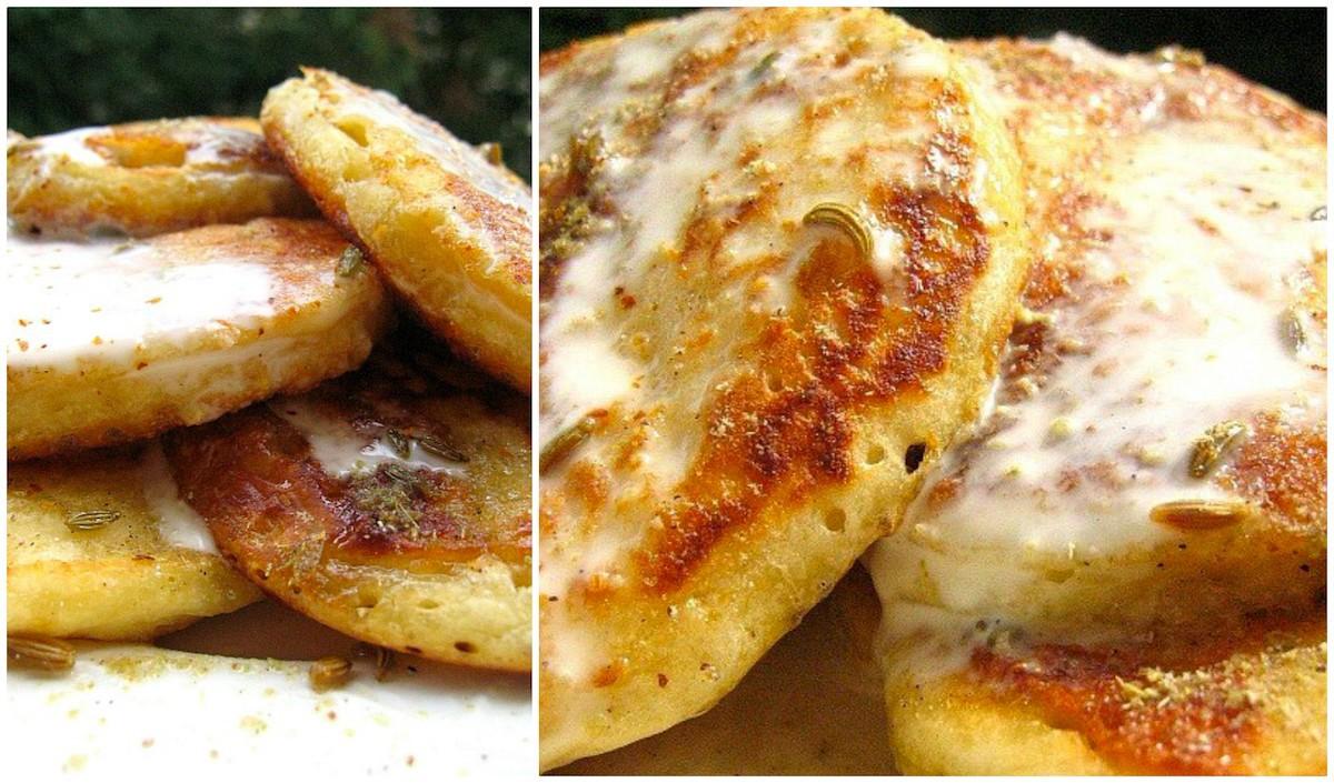 Pancakes indiens sans oeufs