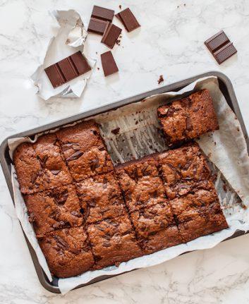 Brownie au chocolat sans oeufs sans gluten ©Shebek shutterstock