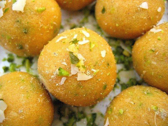 Sucreries aux pois chiches sans œufs sans gluten