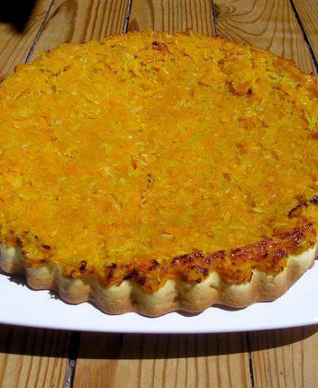 Tarte Tatin carottes fenouil