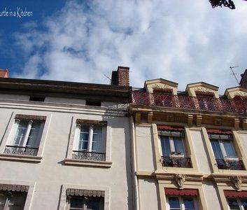 Vue de ma fenêtre – France : Rhône Alpes