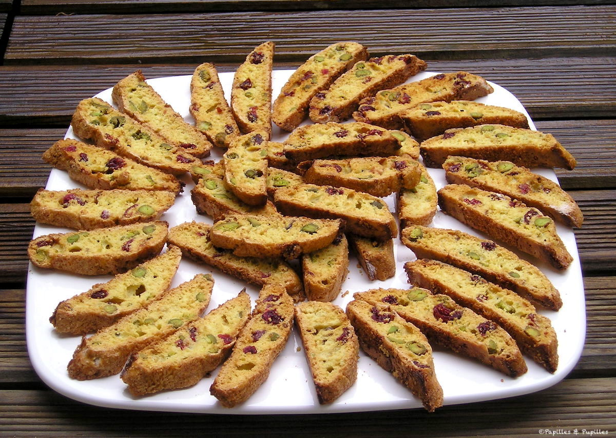 Biscotti airelles pistaches