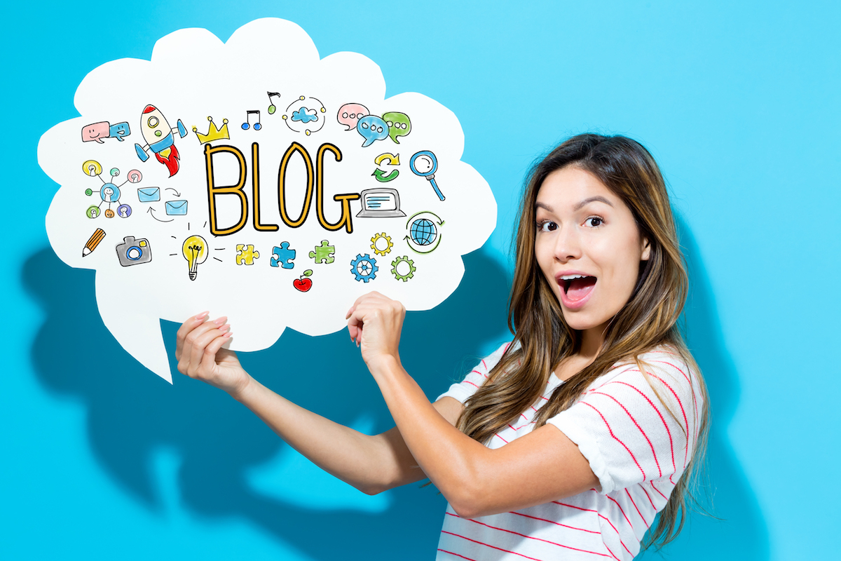Blogs de filles © TierneyMJ shutterstock