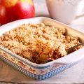 Crumble pommes sirop d'érable ©De MShev shutterstock