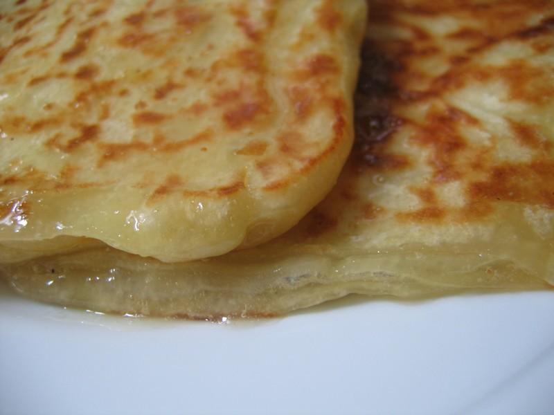 Feuilletés au miel ou msemen sans œufs