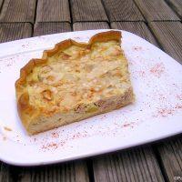 Quiche thon poireaux Parmesan
