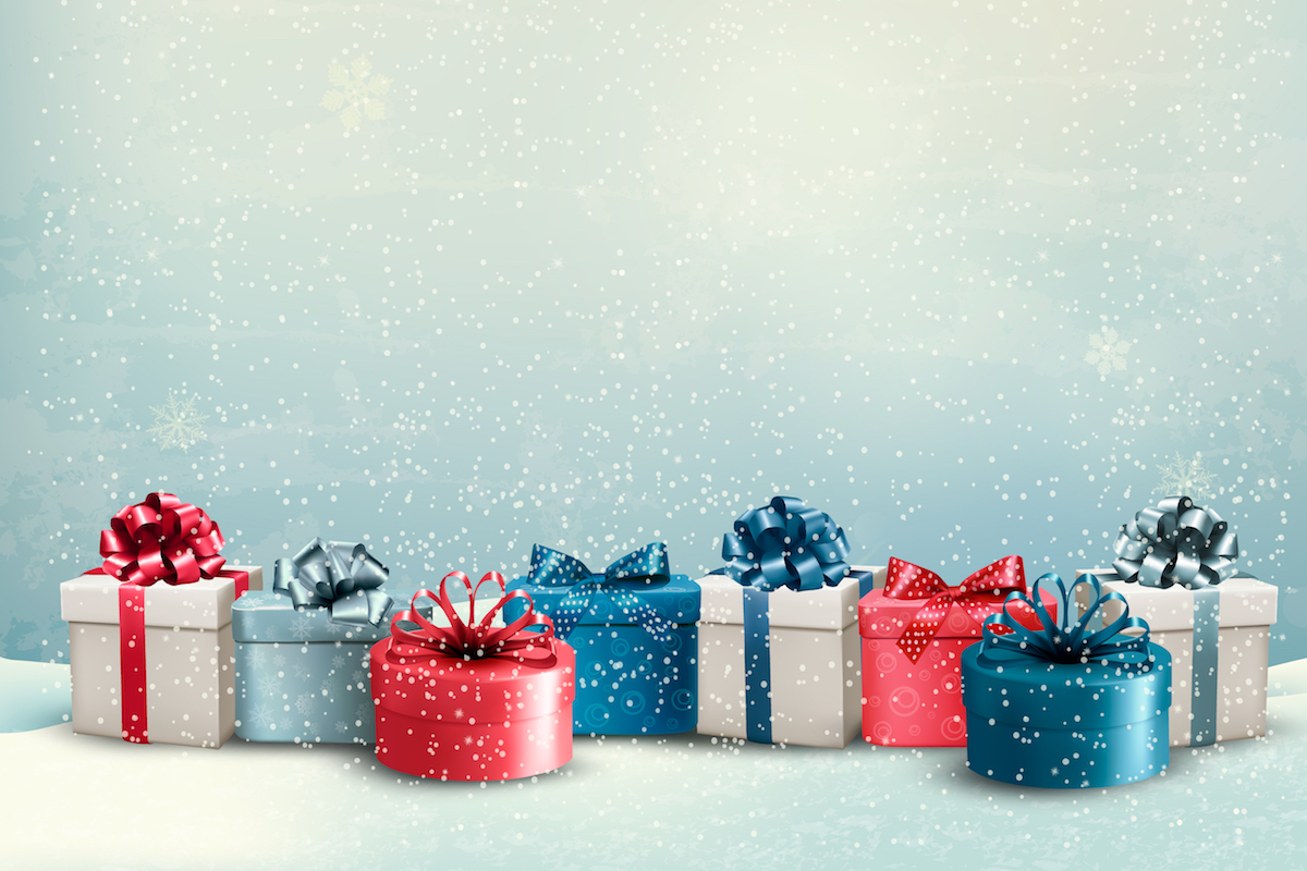Cadeaux de Noël ©ecco shutterstock