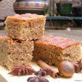 Gâteau moelleux aux épices et aux noisettes