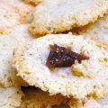 Sablés aux figues et Parmesan