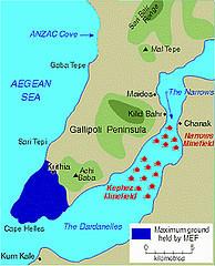 Les Dardanelles - Péninsule de Gallipoli