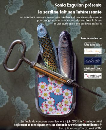Sonia Ezgulian - La sardine fait son intéressante