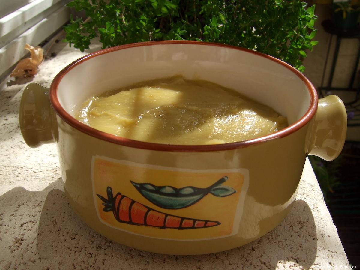 Soupe réconfortante pour hiver persistant