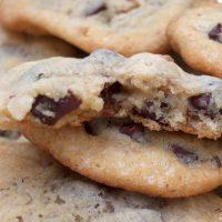 Cookies au noix et chocolat