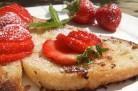 Pain perdu aux fraises