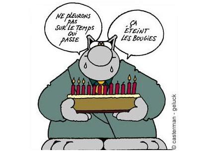 Le Chat - Joyeux anniversaire