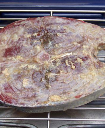 Thon rouge mariné grillé au BBQ