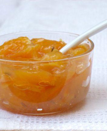 Confiture d'oranges aux grains de fenouil