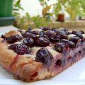 Focaccia (Schiacciata) aux raisins et au romarin.