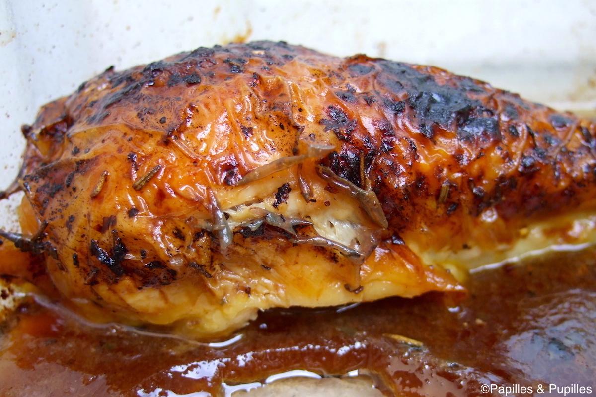 Poulet rôti façon melting pot