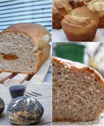 4 recettes de pains pour les fêtes
