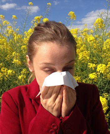 Allergies (c) Cenczi Pixabay CC0 public Domain