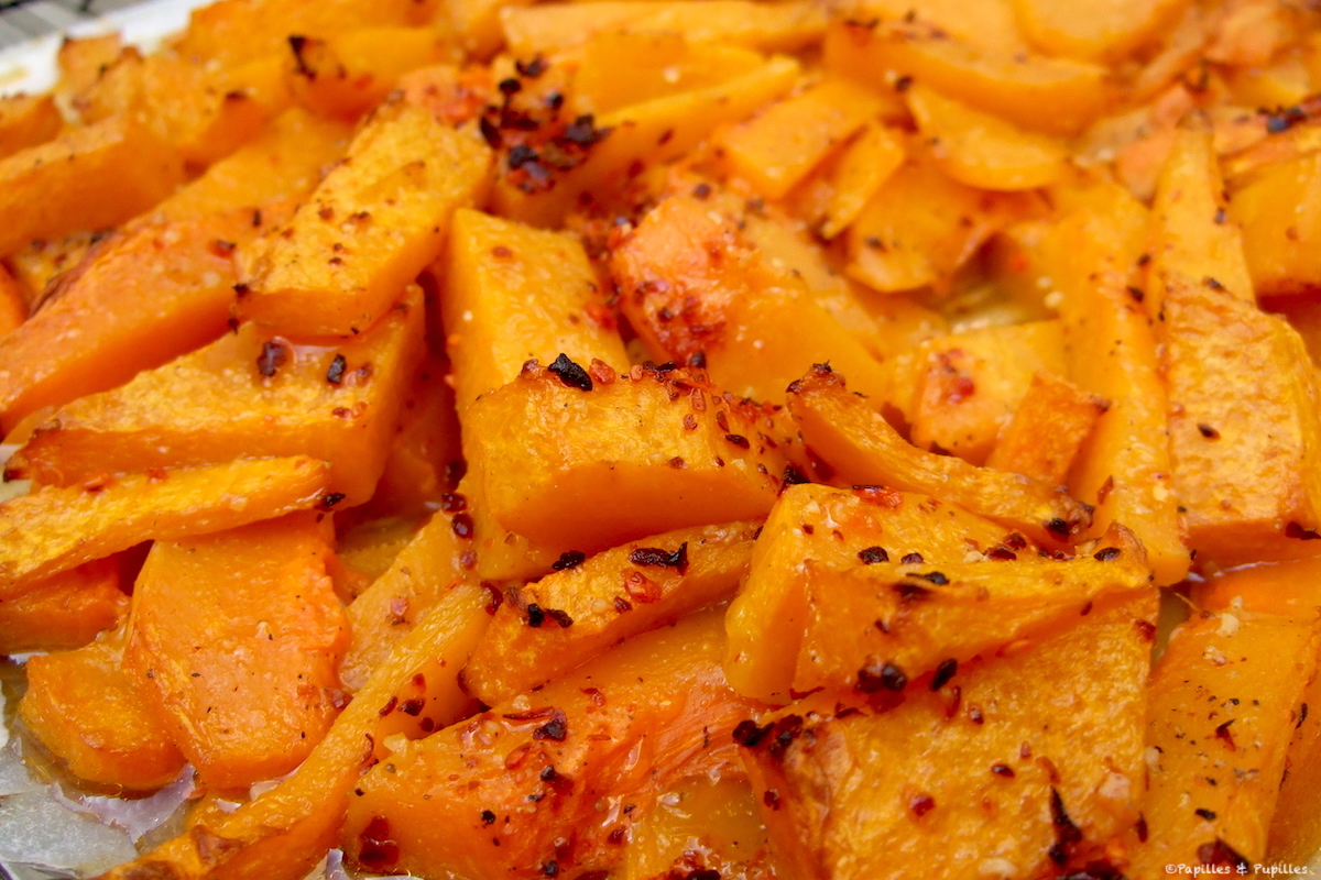 Courge butternut façon country potatoes