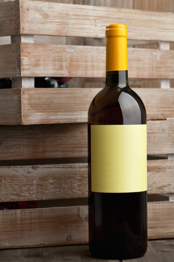 Etiquette vins ©Shawn Hempel shutterstock