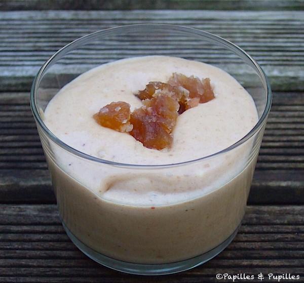 Mousse la cr me de marrons et aux marrons glac s - Mousse a la creme de marron ...
