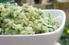 Risotto aux épinards et au fromage de chèvre - Jamie Oliver