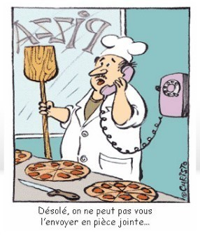 Commander une pizza en 2014
