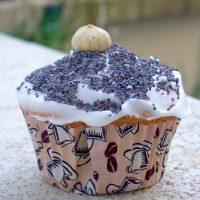 Cupcake citron pavot