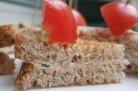 Club sandwich aux rillettes de thon