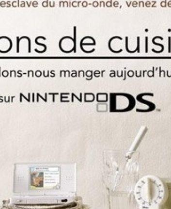 Leçons de cuisine - NIntendo DS