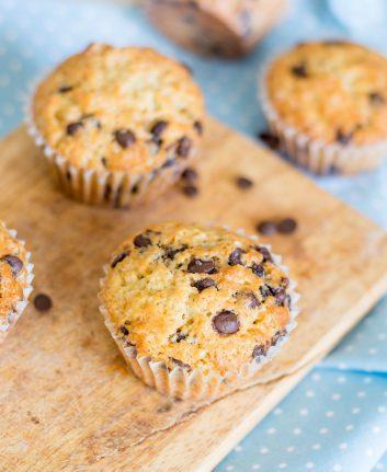Muffins aux pépites de chocolat ©Masha Nemova shutterstock