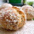 Petits pains aux flocons d'avoine et aux céréales